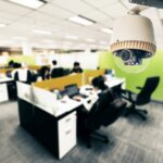 CCTV or surveillance operating in office